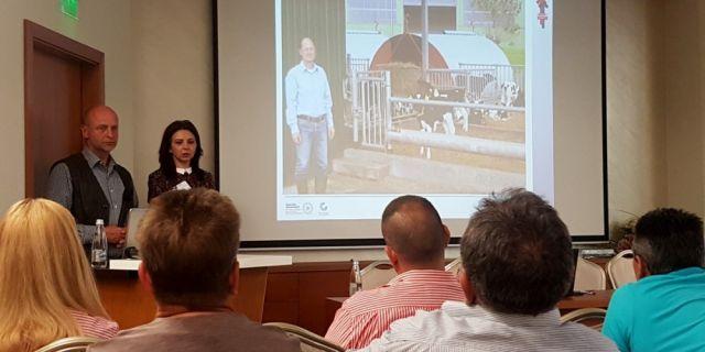 Иновативен метод на отглеждане представи немският експерт д-р Бокман на Бизнес форумът за говедовъдство