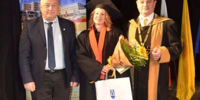 HL-TopMix връчи награди на отличилите се абсолвенти от Тракийски университет – гр. Стара Загора