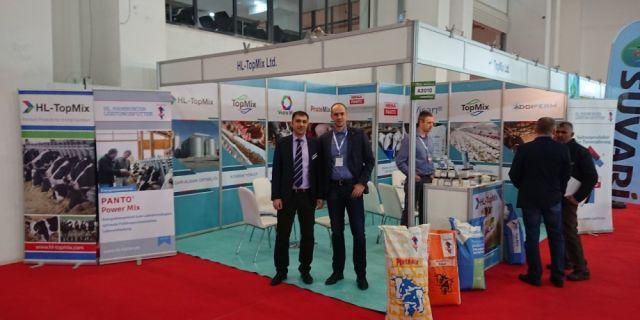 HL-TopMix прави силно участие на AGROEXPO в Измир, Турция